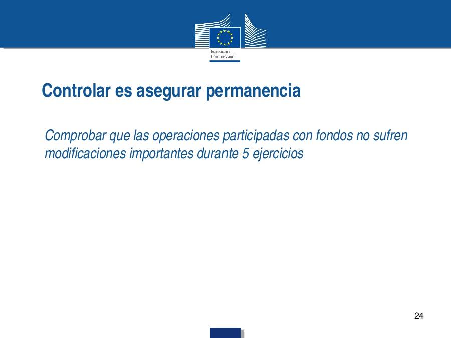 Novos e permanentes retos para os estados membros na xestión dos fondos europeos